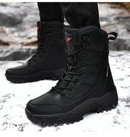 Botas ao ar livre Homens 36 Inverno Pequeno Martin Boots 46 Grandes Sapatos de Montanhismo 37 Roupas de Trabalho Militar Casal Nordeste Neve