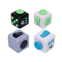 Fidget Cubo Toy Stress Relief Squeeze Festa Diversão Descompressão Ansiedade Boredom Atenção Magia Brinquedos Presentes ocupados