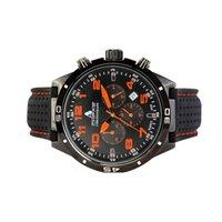 Men's Sports Watch CHS1403 Alloy Case Smart Fashion Gift Quick Adjusting Calendar Silicone Strap Mechanical Automatic Orange