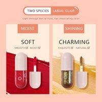 Pudaier 25 ألوان Lipgloss Lipstick غير لزجة كأس غير متلاشى الشفاه اللمعان
