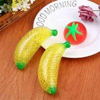 Fidget Squeeze Stress Relief Toy Squishy Banana Ventilamento Bola De Descompressão Engraçado Trp Squish Stressball Autismo Autismo Ansiedade Stress Del Alívio Dedo Brinquedos Jogo G8983BJ