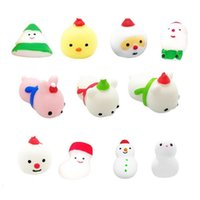 Kawaii Soft Cat Unicorn Squishy Toys Sensory Fidget Finger Toys Squeeze Stretch Stress Toy Christmas Animal Squishies Kids Party Decor Back to School Gifts G82YVS7