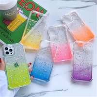 Glitter Circle Sequins Bling Fashion Designers Cases per iPhone 13 12 Pro Max Case Custodia per cellulare 11 Mini XS XR x 7 8 Plus Antiurto