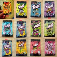 Zipper Poly Packing Bags Smell Proof Edible Package Green 28.3g All Star Mix Peachie Orange Clers Very Berry jlljOm