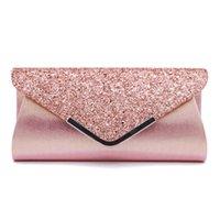 Elegant luxury fashion women's long large capacity Dinner Bag, colorful, classic zipper, very fashionable