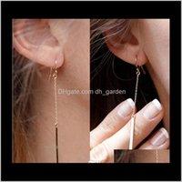 & Chandelier Jewelrydrop Earrings Fashion Jewelry Alloy Bars Dangle Earring Gift For Women Girl Modern Stylish Hanging Ear A Drop Delivery 2