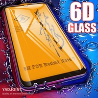 6D Full Cover Screen Protector For Xiaomi Pocophone F1 Poco F3 X3 M3 F2 Mi 10T 9T Redmi Note 10 9 9S 8 Pro Glass Tempered Glass