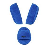 Stroller Parts & Accessories Kids Seat Safety Belt Shoulder Strap Cover Holder Set Children Protective Baby Cart Soft Plush