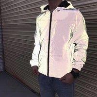 21SS MENS WOMENS Designer Jacken Casual HipHop Windjacke Reflektierende Jacke Klassische Kleidung Marke Mann S Frauen Kleidung Liebhaber Sportmantel 2021