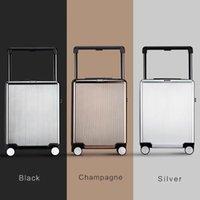 High-End-Marke 20/24 Zoll Walzgepäckart Mode Passwort Bordwagen Koffer Weitrange Reisetasche Luxus-Tender-Koffer