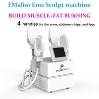 EM Máquina Slim Beauty Machine Emslim Ems Estimulador Muscular Edifício Corpo Emagrecimento Máquinas Contutores Gravura Gordura Hiemt Dispositivo