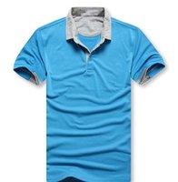 BOSS T-Shirt 2021 Trend Erkekler Lüks Tasarımcılar Polos Moda Rahat Gömlek Yaka Elbise Erkek Tasarımcı Polo T Shirt