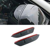 Per BMW Z4 2002-2016 E85 E89 13-21 I3 I01 Adesivi per auto Adesivi Laterali Specchio retrovisore Rain Soprabrow Visor ABS Carbon Fiber Shade Guard Accessori