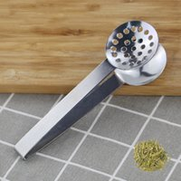 Stainless Steel Tea Sugar Clip Tweezer Mini Clamp Tong Clips Coffee Ice Cube Little Tea Clips Multifunctional Kitchen Bar Tools LLE6712