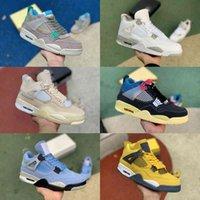 أعلى جودة جامعة الأزرق 4 4S كرة السلة أحذية رجالي المرأة ما هو المال الخالص الشراع SP WMNS قبالة نام الجوافة الجليد بوردو عما حذاء