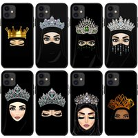 Muslim Girl Cell Phone Cases For Iphone 13 12 Mini 11 Pro Max X Xr Xs 8 7 6s Plus Soft Tpu Full Protection Case