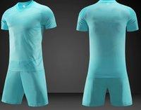 S070115-6Customized Servis DIY Futbol Forması Yetişkin Seti Nefes Özel Kişiselleştirilmiş Hizmetler Okul Takımı Herhangi Bir Club Futbol Gömlek