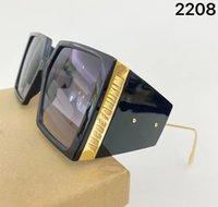 "Ray""Ban""Dita"" Sunglasses Mens Metal Designer Luxury Frame Gold Square Women Oversize With For Eyewear Mirror Glass Lens Hlqu"