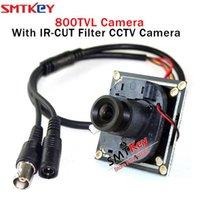 カメラSMTKEY 8330 HD 800TVL CMOSボードCCTVカメラスモールミニ+ 3.6mmレンズ+ケーブル(38 * 32サイズボード)