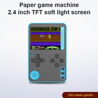 Portable Game Players 500 IN 1 Retro Video Console Handheld Pocket Games Mini Player For Kids Gift Accessories