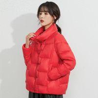 Winter Down Jacket Women Ultra Light Warm Coats Female Casual Tops Plus Size Parka For Women's & Parkas