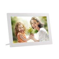Digital Po Frames Po 13 Inch HD Frame 1280X800 Electronic Support Clock Calendar Time Switch Machine