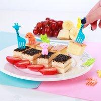 Animal Manor Bonito Mini Bento Sinal Children's Cartoon Fruit Fruit Grupo Criativo Plástico Decoração 7 Estilos GWF10209