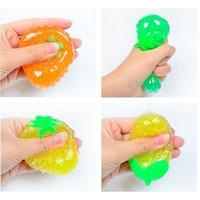 Fidget Decompression Finger Toy Pexuary Trick Fruit Squeeze Grape Piłka Ciśnieniowa Woda do łagodzenia Fidgeting Zabawki