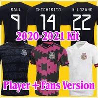 2021 México H.Lozano dos Santos Soccer Jerseys H. Herrera 20 21 Chicharito Adulto Homem Esportes A. Guardado Football Shirts
