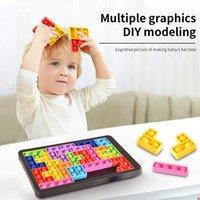 Fidget PoP Toys Tetris Jigsaw Puzzle Decompression kids Toy Reliver Stress Anti-stress Fidgets Bubble Sensory to Relieve Autism