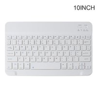 7 9 10 Inches Wireless Bluetooth Lightweight Rechargeable Keyboard Travel Keypad Drop Keyboards
