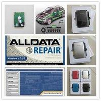 tool alldata repair software 10.53 ATSG Vivid workshop in 1TB HDD all data 49in1 for cars trucks full kit