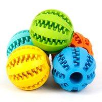 Borracha mastigar bola brinquedo treinamento brinquedos toothbrush mastiga bolas alimentares produto gota do produto ZWL194
