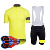 Rapha 팀 사이클링 짧은 소매 저지 남자 통기성 MTB 자전거 셔츠 턱받이 반바지 슈트 도로 자전거 유니폼 야외 운동복 32082