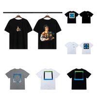 Moda Erkekler T Gömlek Yaz Bayan Tasarımcı Kaliteli Kısa Kollu Unisex Hip Hop Tees Erkek Giyim