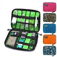 Toiletry Kits Digital Cable Bag Men Creative Travel Gadgets Pouch Power Cord Charger Headset Organizer Drive Electronic Suitcase Accessories