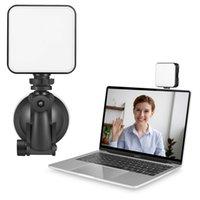 Vidéo Conférence Led Bague Light Studio Studio Têtes flash avec ventouse Stand pour PC Smartphone Tablet Caméra Live Diffusion de photographie de photographie