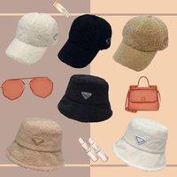 Дизайнер Тедные зимние бейсбольные шапки Teddy-Fleece Faux-Labs-шерстяная хепка для мужчин женщин