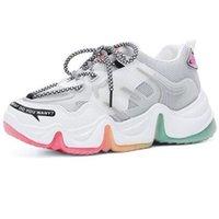 Hombres Mujer Ligeras Zapatillas deportivas Mujeres Deportes Sneakers Tripe Blanco Blanco Beige Mens Entrenadores Zapatos Chaussures 36-45