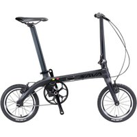 Vélo de pliage en fibre de carbone SAVA Z0, cadre en fibre de carbone de 14 po pouces, vélo de vélo à vélos fixe à vélos fixe