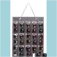 Bags Housekeeping Organization Home & Gardensunglasses Organizer, Wall Pocket Mounted By Sunglasses, Hanging Eyeglasses Storage Holder, Eyew