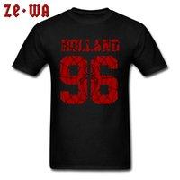 CCCCSPORTOLADK 96 Hollanda Tshirt Yüksek Kalite Kazak Saf Pamuk Band Artı Boyutu Avrupa T Shirt Boy Tee Gömlek Anneler Günü