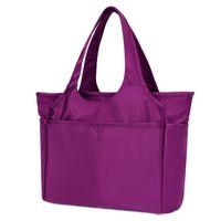 Evening Bags Female Bag 2021 Shoulder Multi-pocket Dry And Wet Separation Large Capacity Yoga Handbag Mommy