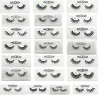 3D False Eyelashes 22 Styles Handmade Beauty Thick Long Soft Lashes Fake Eye Lash Eyelash Gift Box Package 3001217