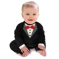 Jumpsuits Baby Boy Suit Version Of The Gentleman Ha Garments Romper Spring Climb Clothes Infant Toddle Babies Jumpsuit Clothing B0623