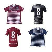 21 22 J1 League Vissel Soccer Janeiro Japão 2021 2022 Home Away Football Shirts Uniforme Gotoku A.iniesta David Villa Podolski Samper Iniesta 999