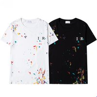 Luxurys Designer T-Shirt Männer 2021 Mode T-Shirt Alte Blume Druckmann Frauen Paare Shorts Shirts Sweat-Saugbent Atmungsaktiv Schnelltrocknung