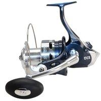 8RRB + Relação de engrenagem de 1RB 3.3: 1 Roda distante de fiação de pesca com alça trocável 14kg Power Bass Carp Tackles Baitcasting Carretéis