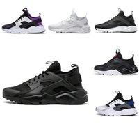 Treinadores de alta qualidade Huarache Ultra 4.0 Surache Correndo Sapatos para Mens Womens Triple Branco Todos os Black Huraches Harache Sneakers