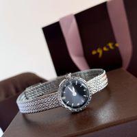 15 mm Ladies Quartz Watch vintage strip grain design fashion casual exquisite simple